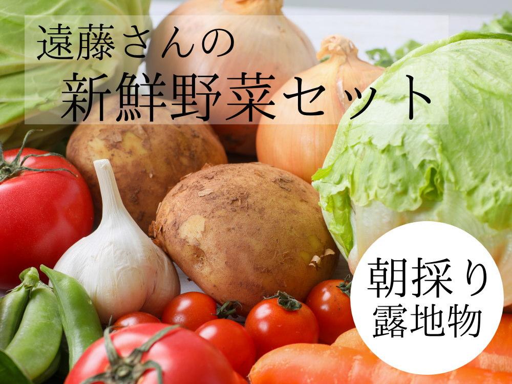 遠藤さんの農家直送 野菜が5点セット、送料無料
