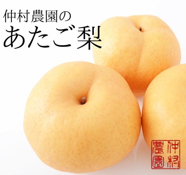 仲村農園のあたご梨